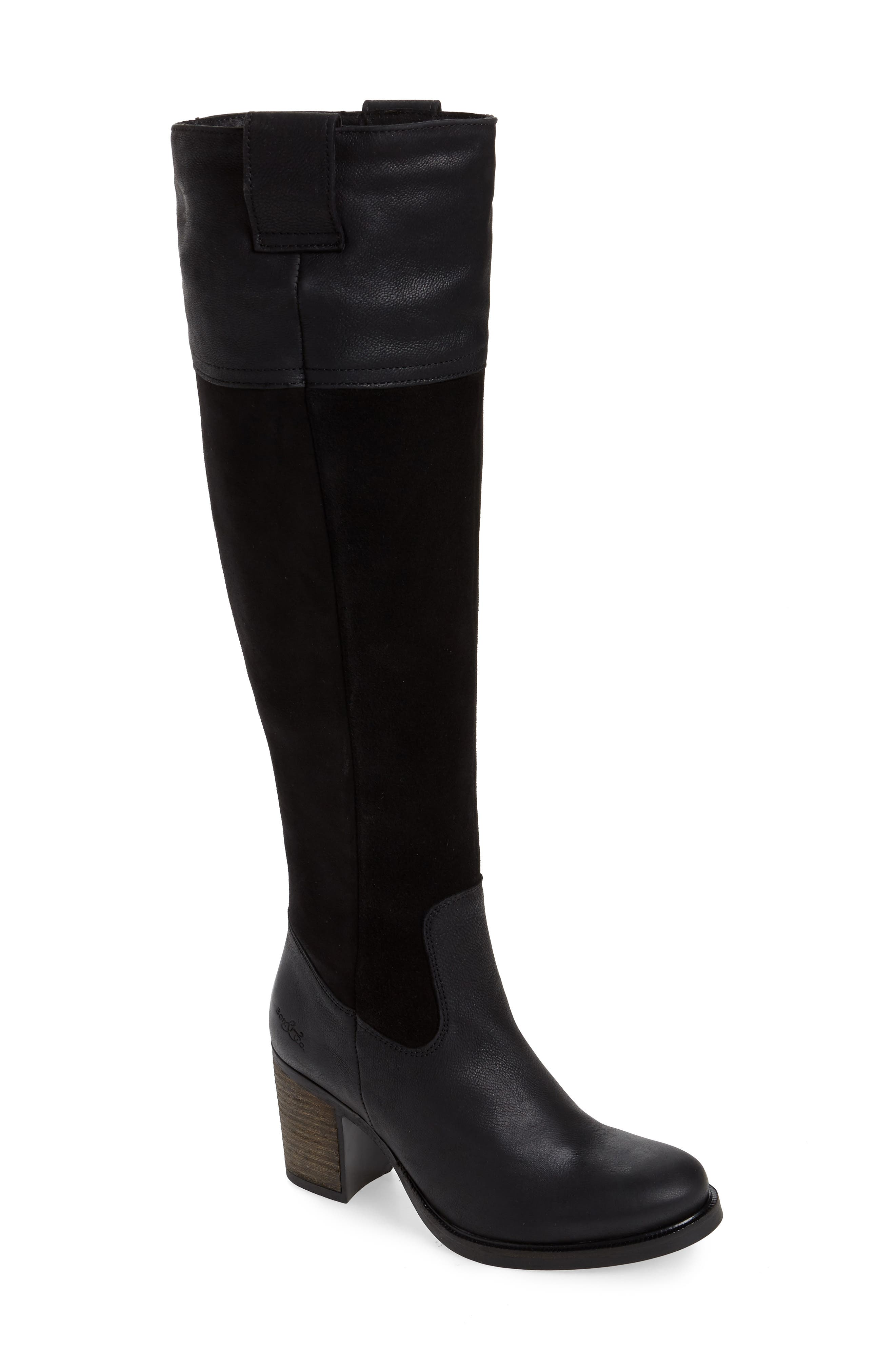 Billing Suede Over The Knee Boot