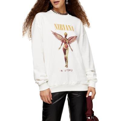 Topshop Nirvana Sweatshirt