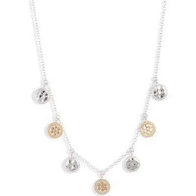 Anna Beck Hammered Charm Necklace