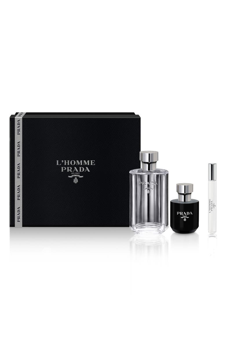 PRADA L'Homme Prada Eau de Toilette Set, Main, color, NO COLOR