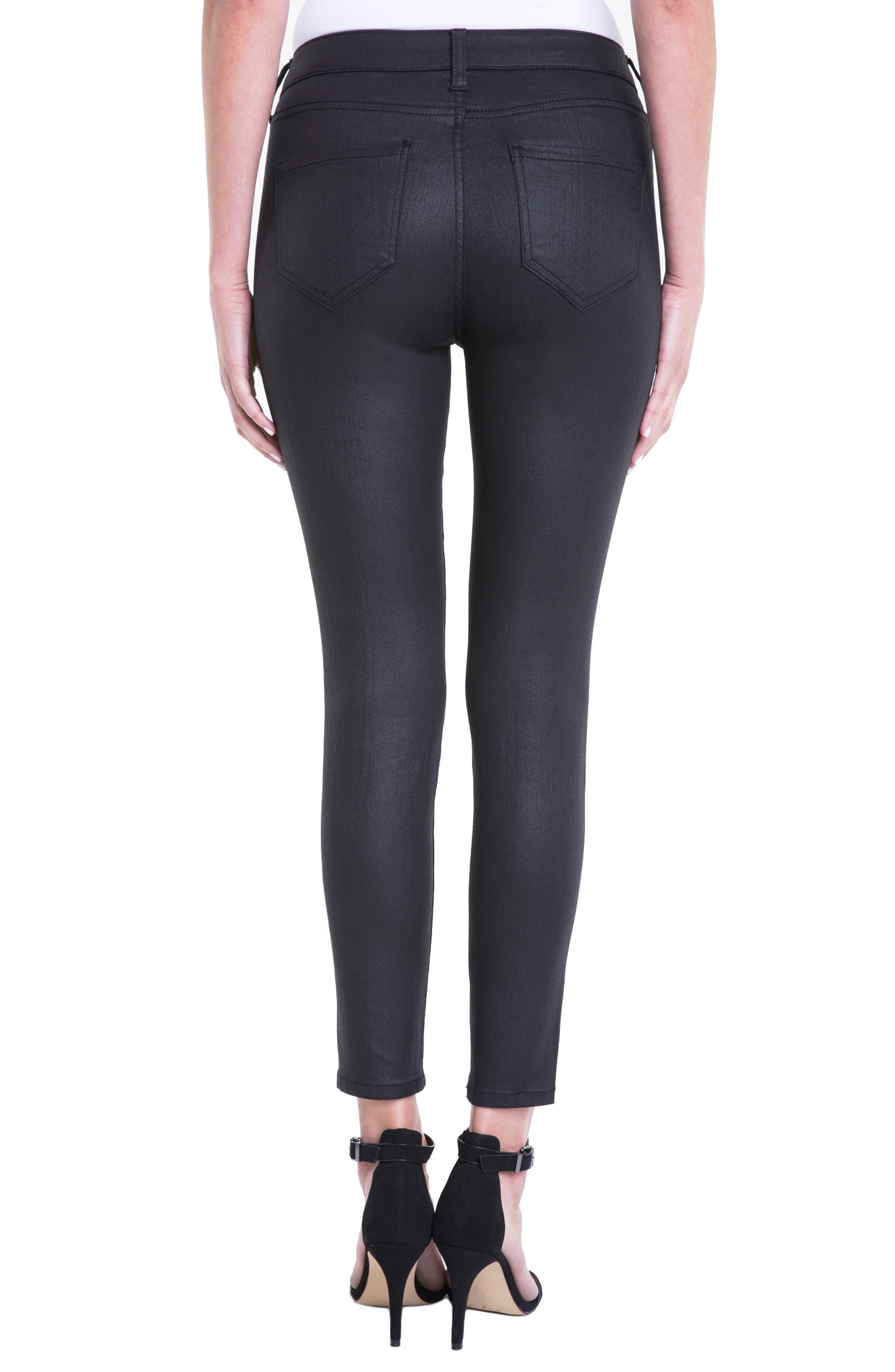 ,                             Bridget Coated High Waist Skinny Jeans,                             Alternate thumbnail 2, color,                             001