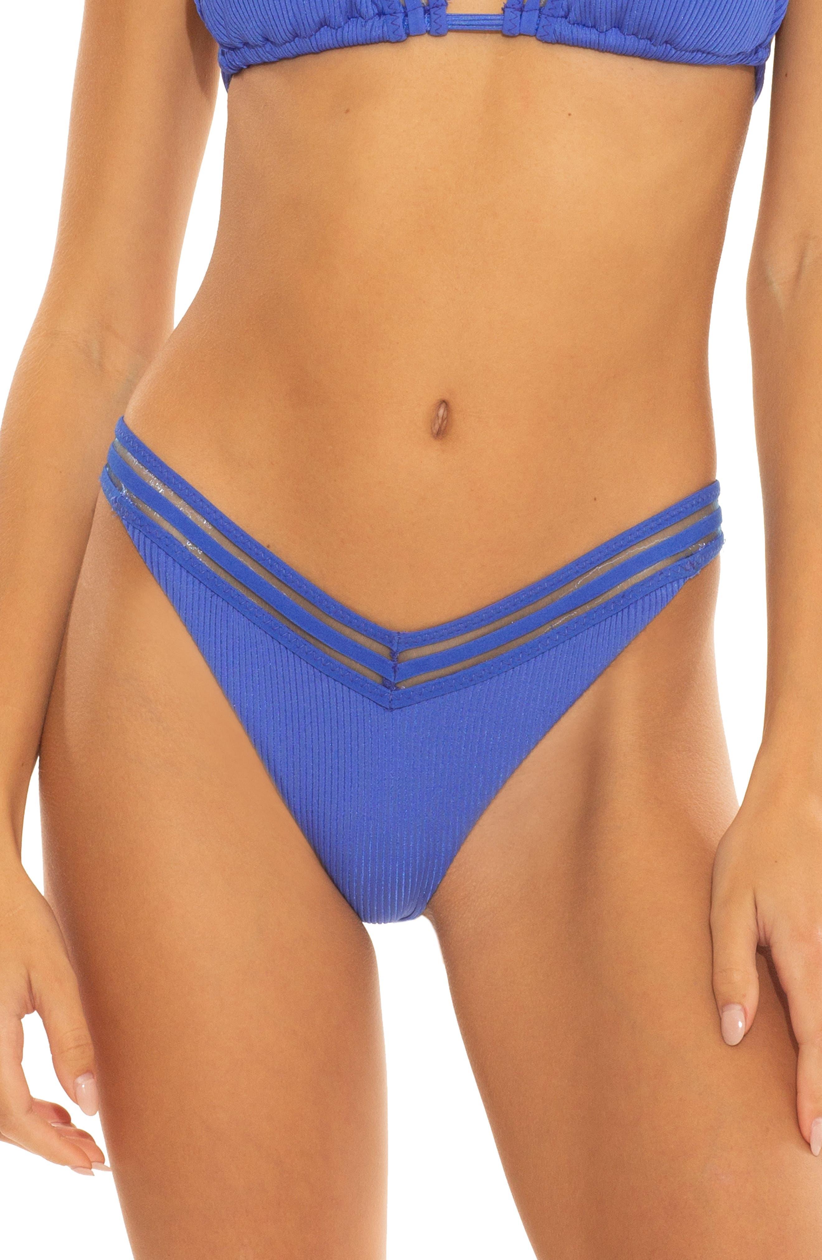 Cali Smaller Fit Queensland V-Front Bikini Bottoms