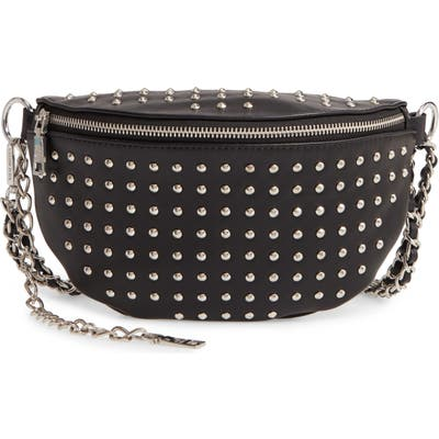 Steve Madden Studded Faux Leather Belt Bag -