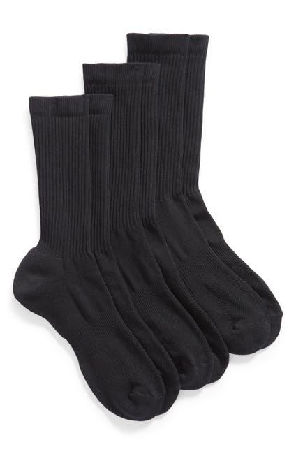 Image of Nordstrom Basic Crew Socks - 3 Pack