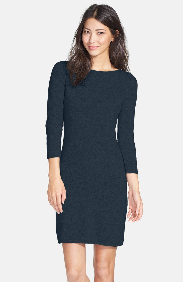 ONLY MINE Wool & Cashmere Sweater Dress, Main, color, 419