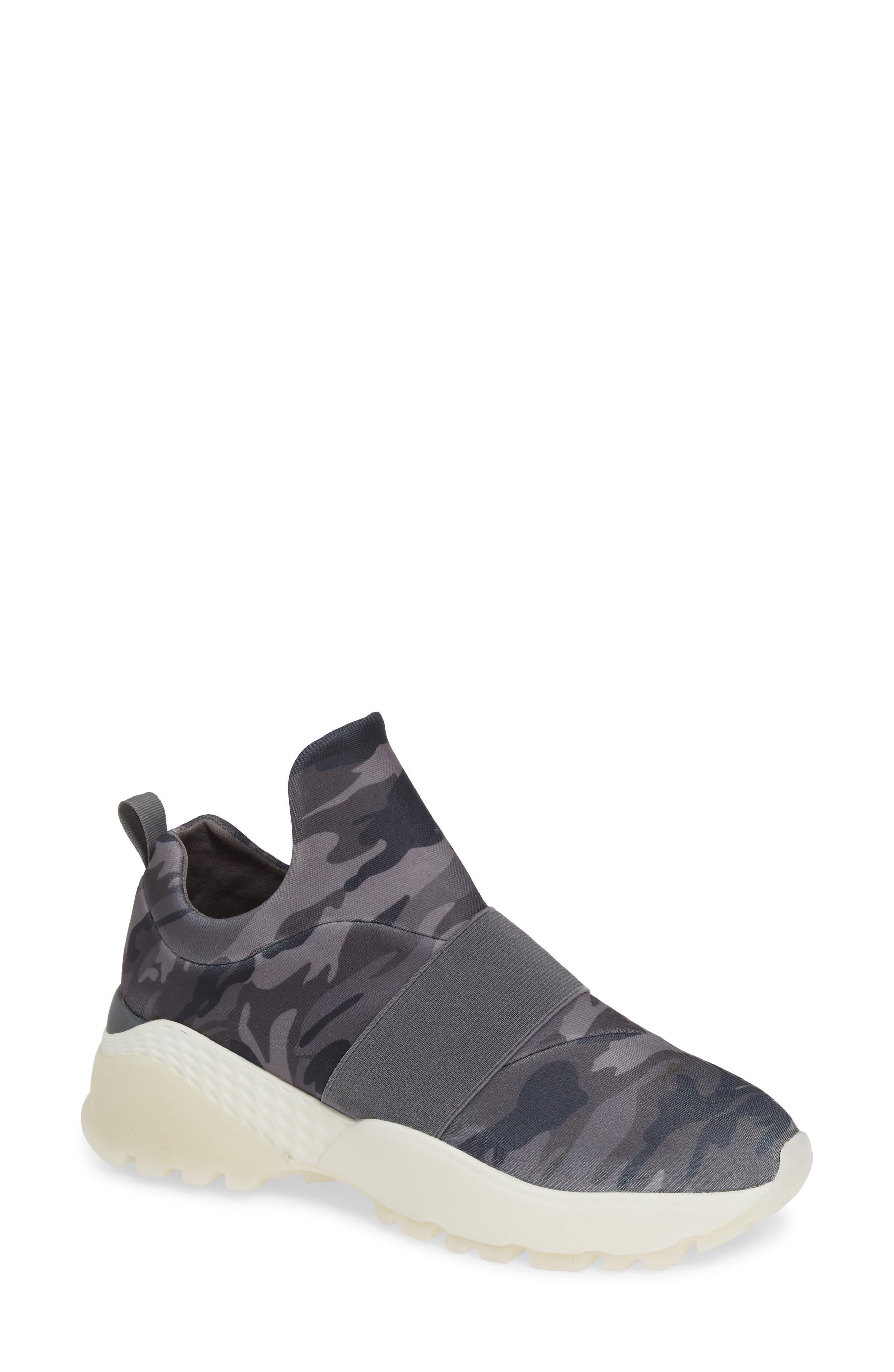 Jslides Slip-On Sneaker- Grey