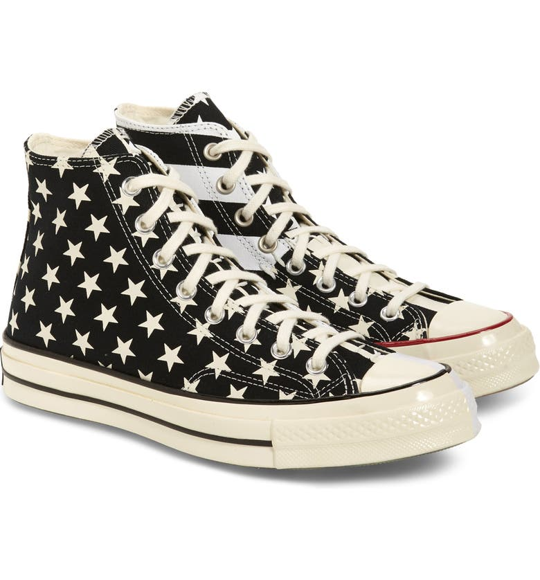 CONVERSE Chuck 70 Restructured High-Top Sneaker, Main, color, BLACK/ WHITE/ EGRET