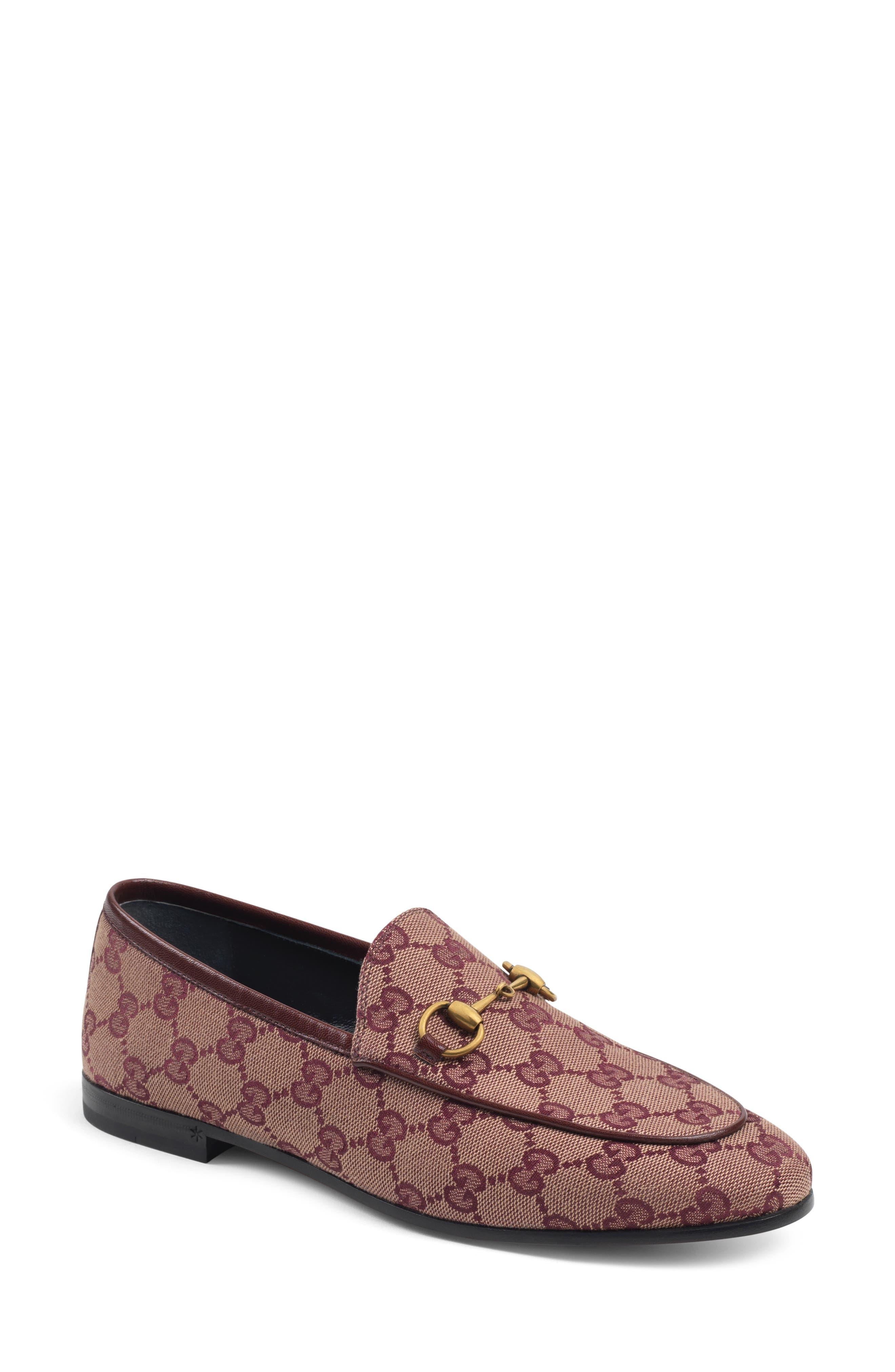 Gucci New Jordaan Loafer - Burgundy