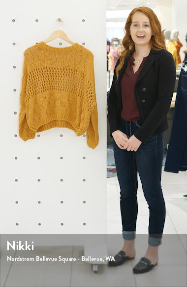 Onward We Go Chenille Sweater, sales video thumbnail