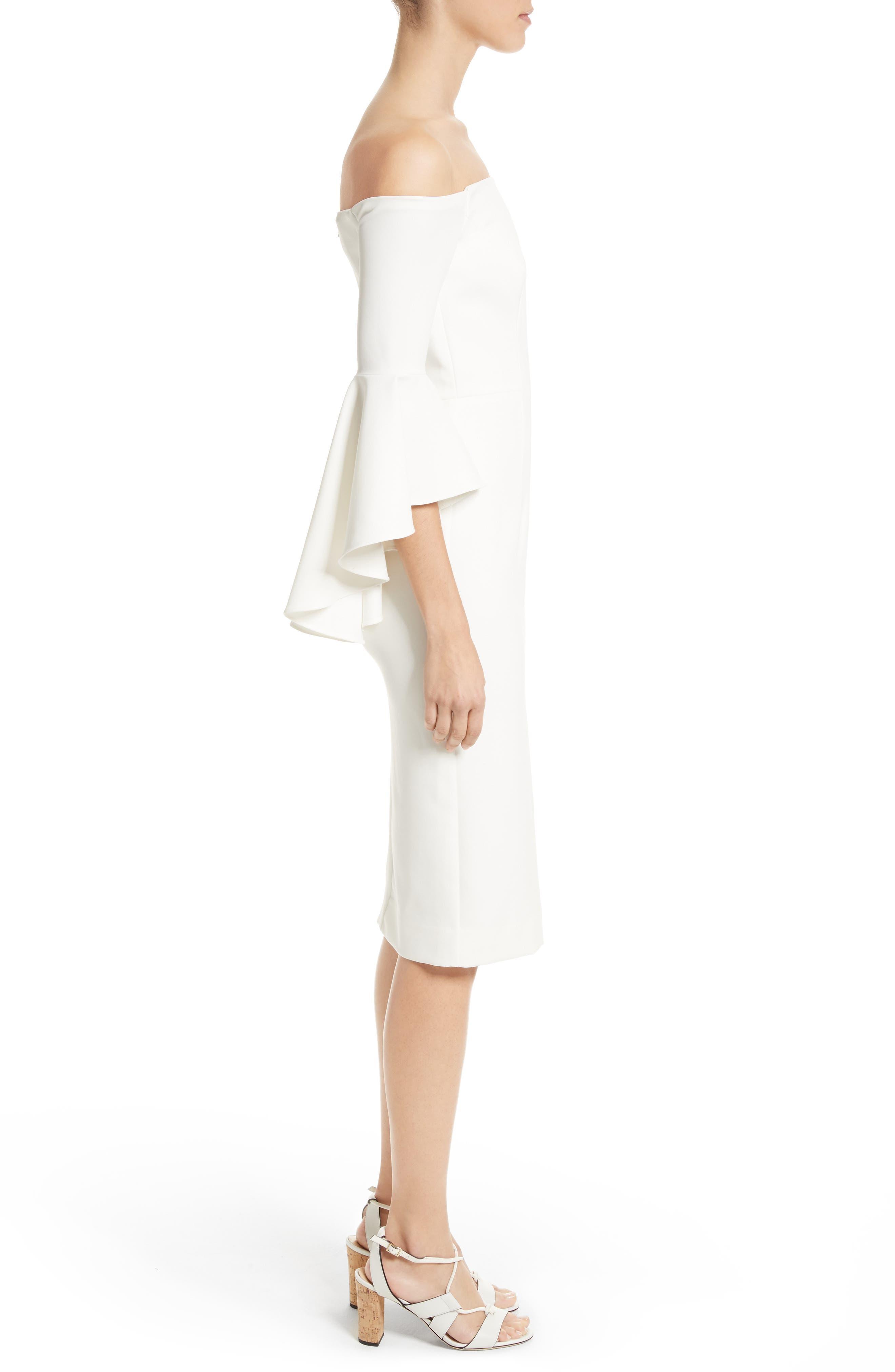 ,                             Selena Off the Shoulder Midi Dress,                             Alternate thumbnail 24, color,                             150