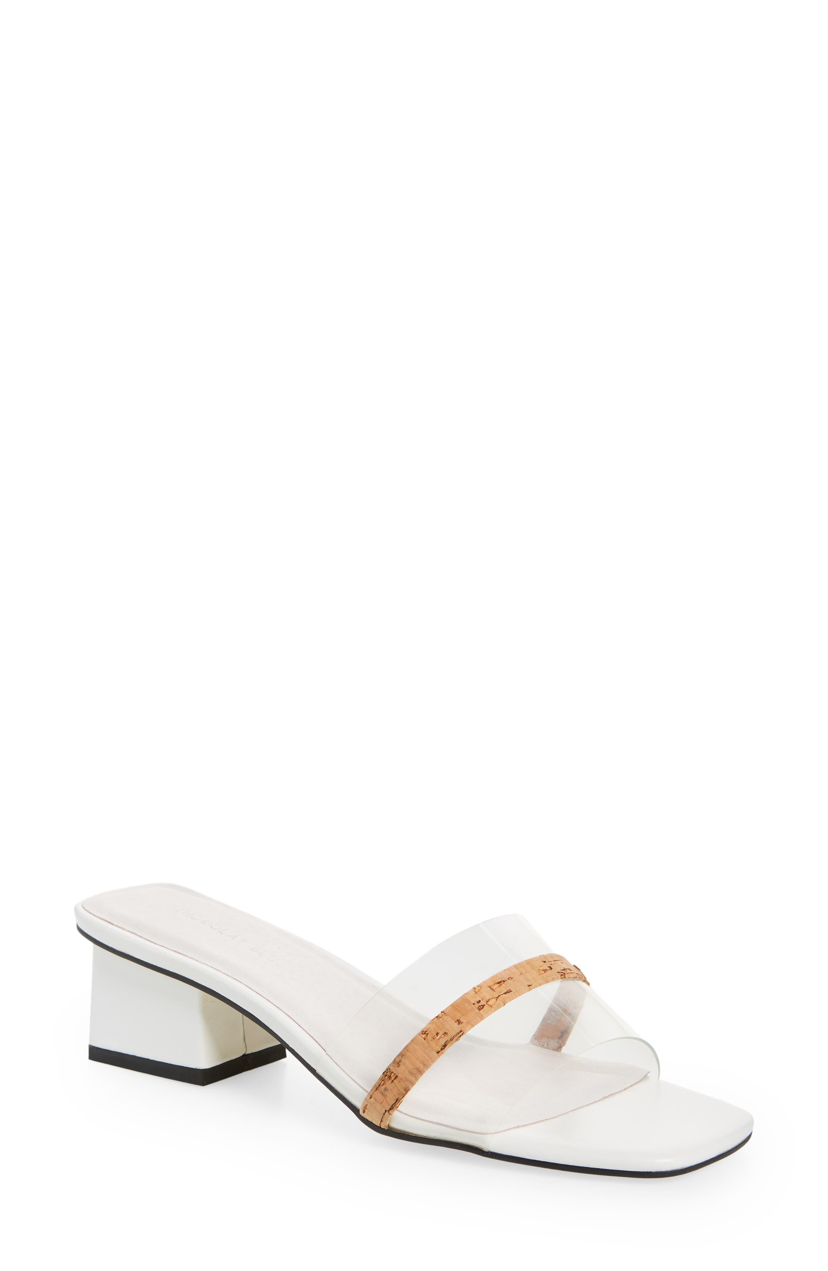 Cleo Cork Detail Slide Sandal