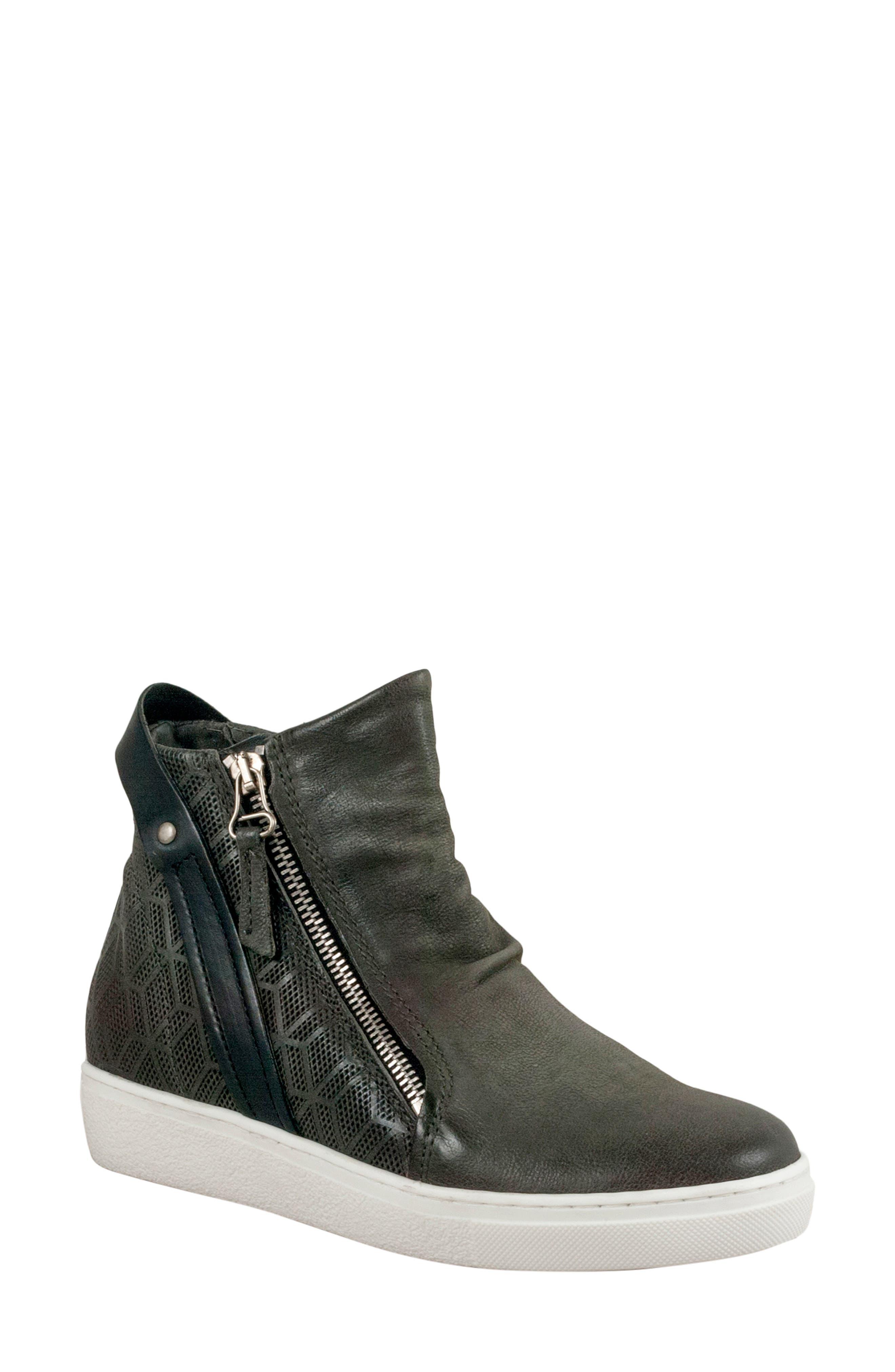 Miz Mooz Lulu High Top Sneaker Grey