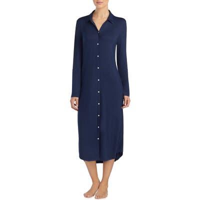 Lauren Ralph Lauren Ballet Long Nightgown, Blue