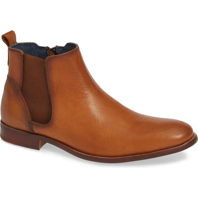 Jump Collin Plain Toe Chelsea Boot, Brown