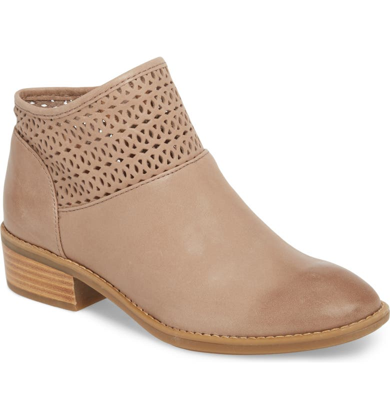 COMFORTIVA Caileen Bootie, Main, color, LIGHT TAUPE