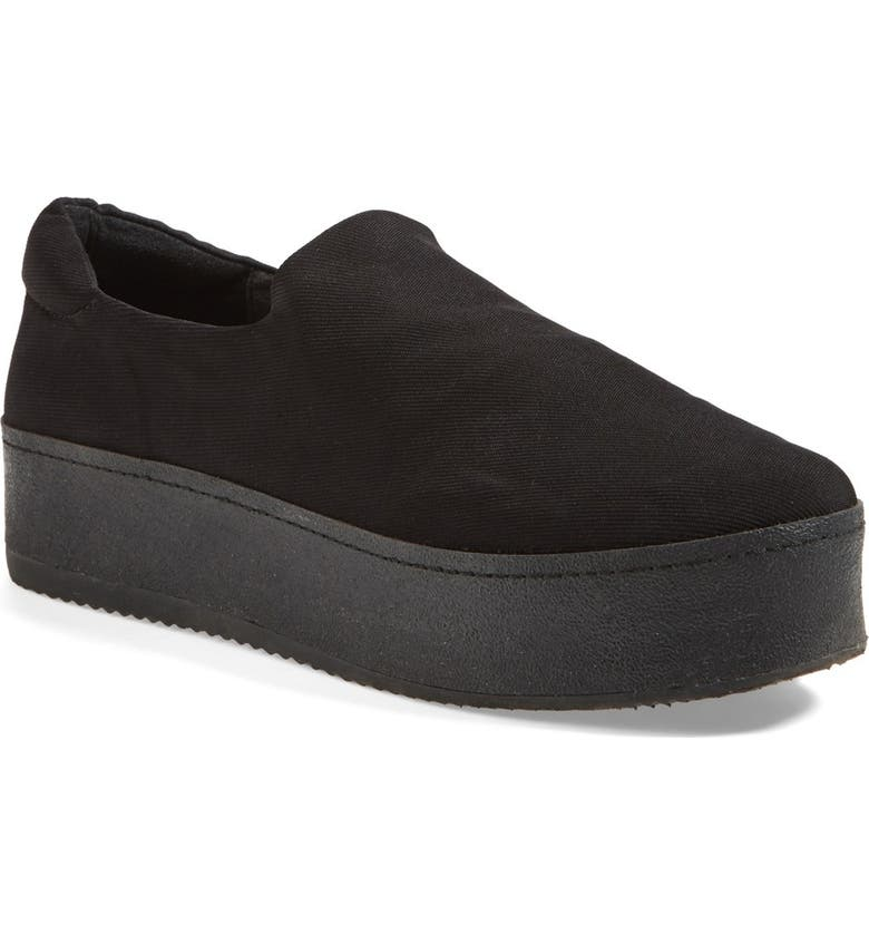 OPENING CEREMONY 'Grunge' Slip-On Platform Sneaker, Main, color, 001