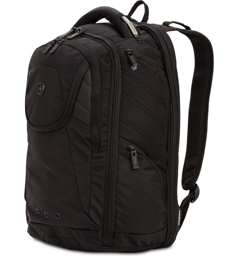 SWISSGEAR 2762 ScanSmart(TM) Laptop Backpack, Main, color, BLACK