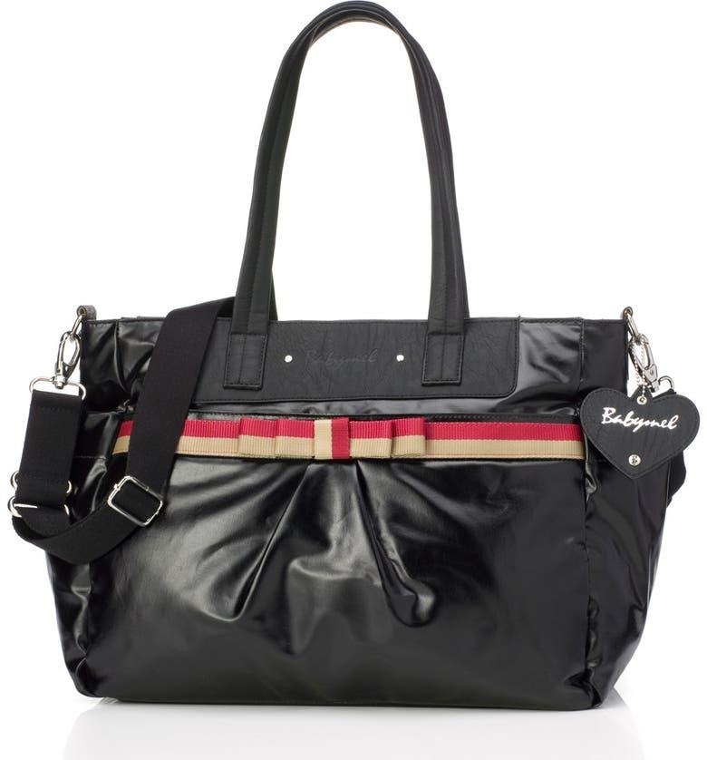 BABYMEL 'Cara' Diaper Bag, Main, color, 002