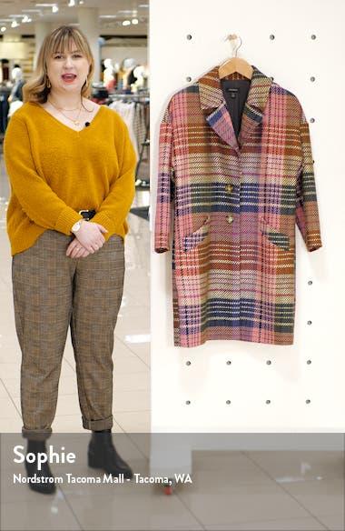Plaid Tweed Coat, sales video thumbnail