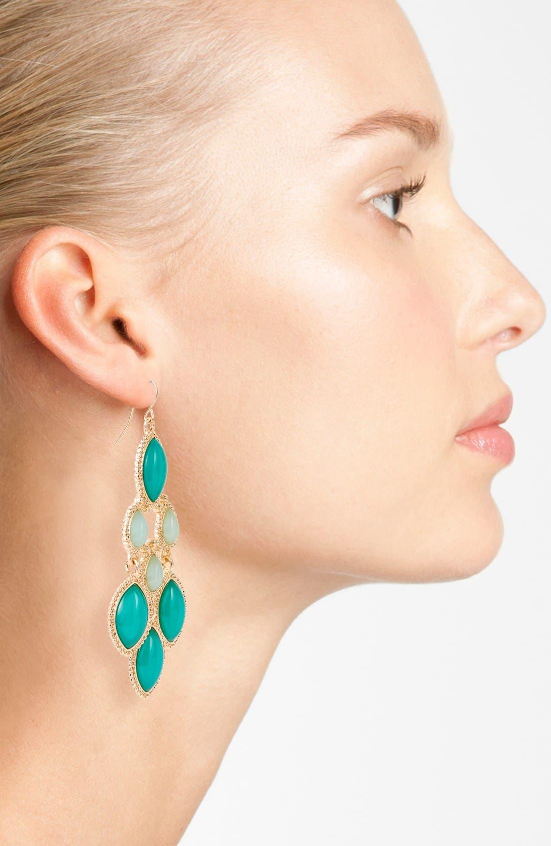 ,                             Chandelier Earrings,                             Alternate thumbnail 3, color,                             300