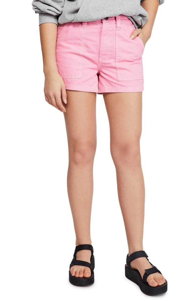 BDG Urban Outfitters Denim Skate Shorts, Main, color, 650