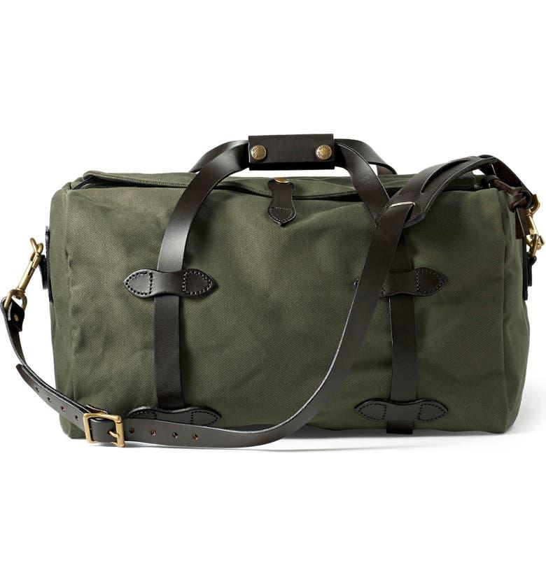 FILSON Small Duffle Bag, Main, color, OTTER GREEN