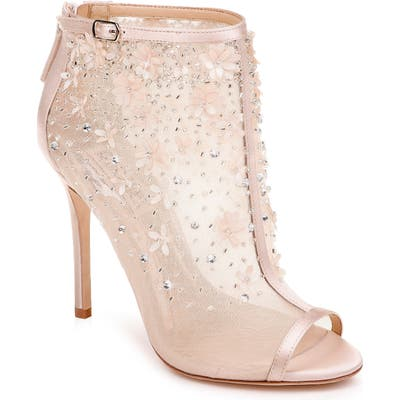 Badgley Mischka Isadora Open Toe Bootie