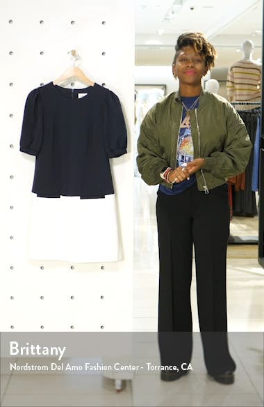 Colorblock Shift Dress, sales video thumbnail