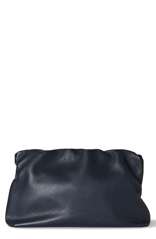 The Row LEATHER FRAME CLUTCH