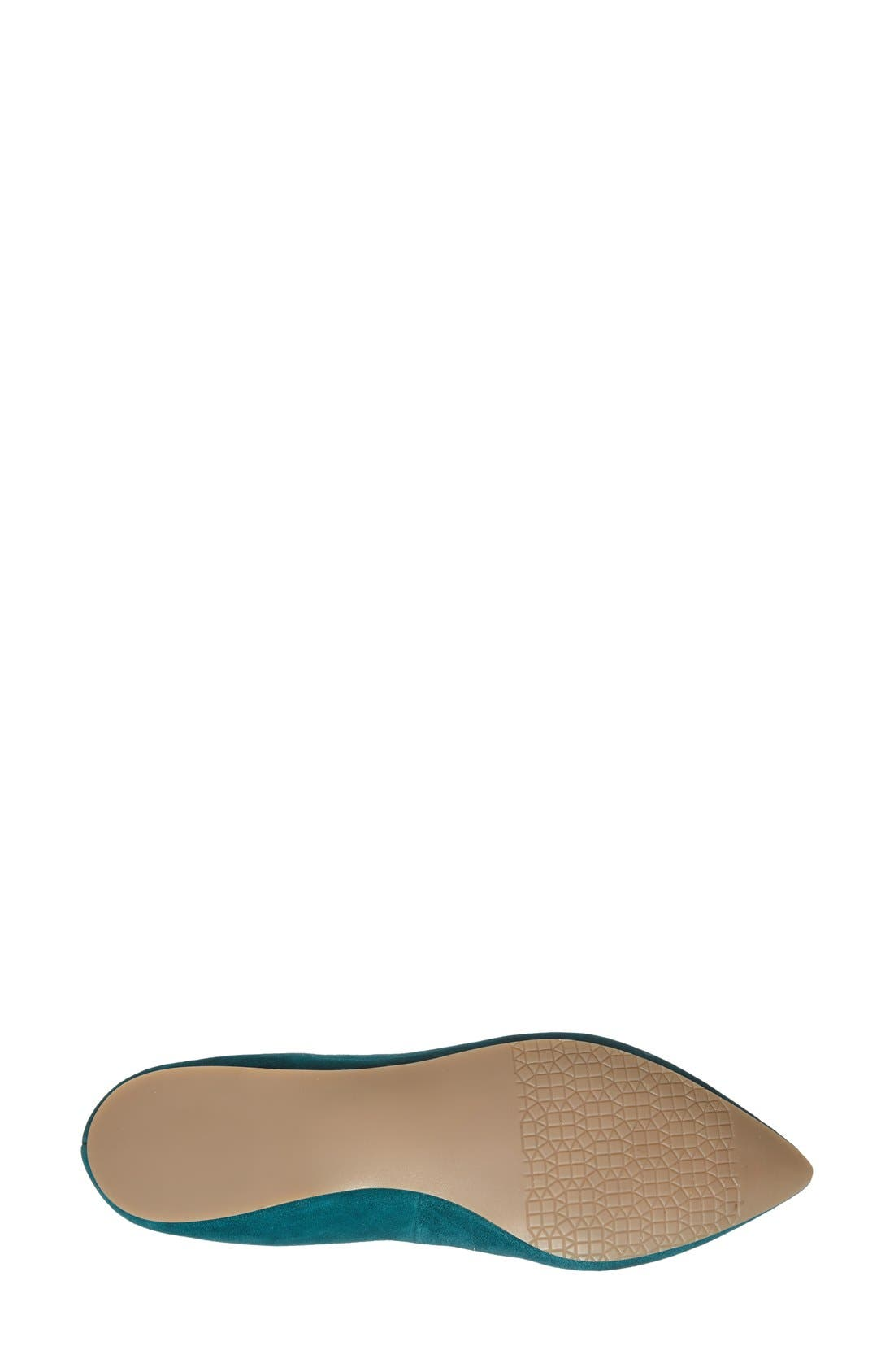 ,                             'Moveover' Pointy Toe Leather Flat,                             Alternate thumbnail 19, color,                             343