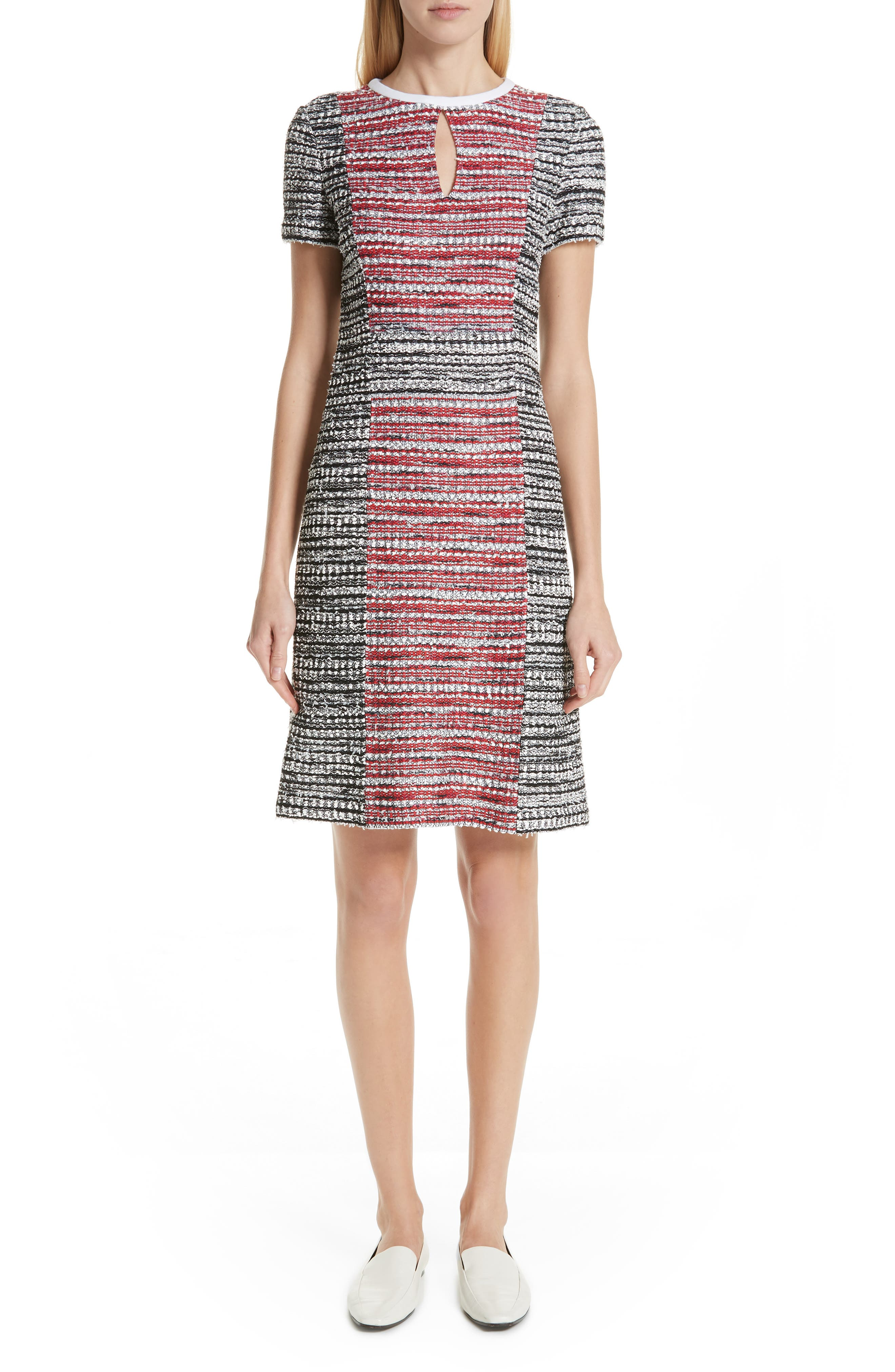 St. John Collection Amelia Knit Dress, Red