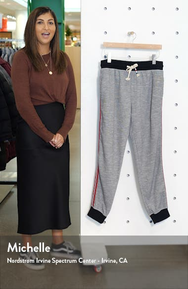 Side Stripe Jogger Pants, sales video thumbnail