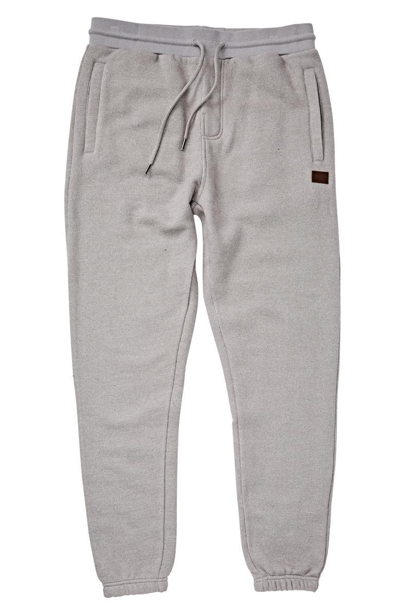 BILLABONG Balance Sweatpants, Main, color, LIGHT GREY