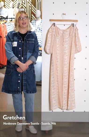 Marta Off the Shoulder Midi Dress, sales video thumbnail