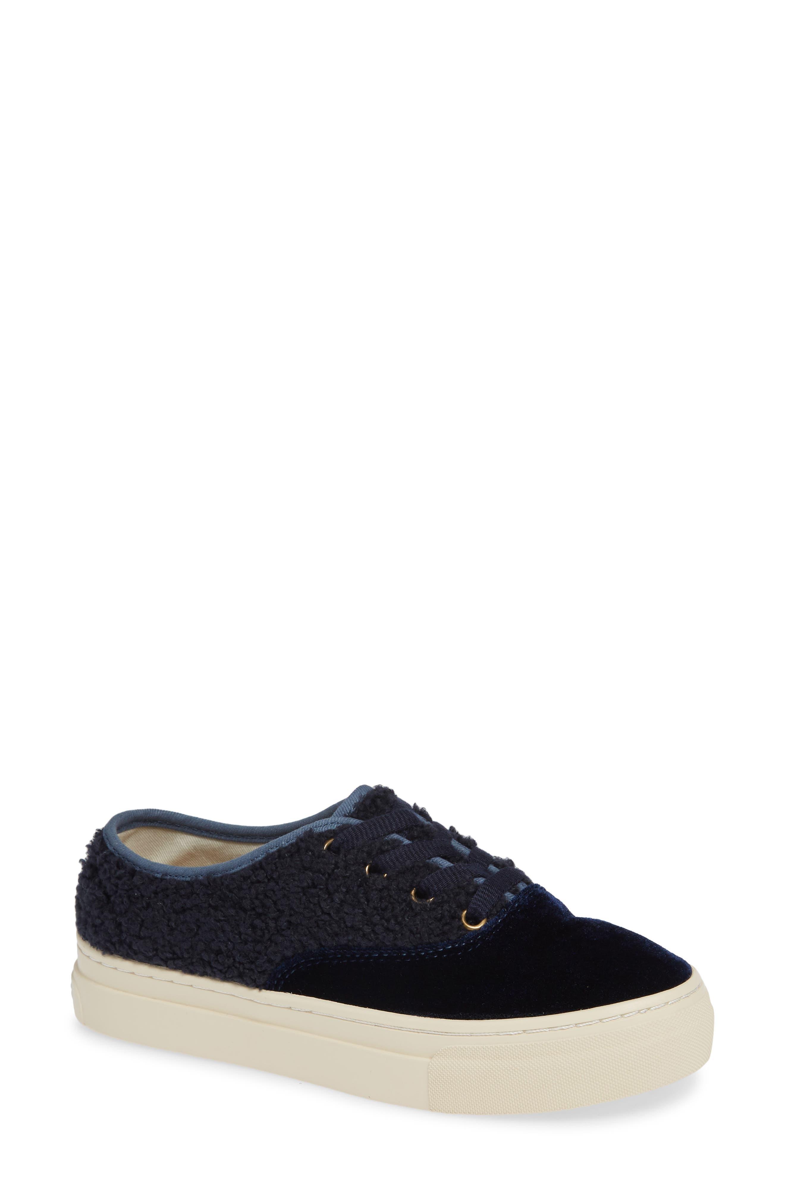 Soludos Platform Sneaker, Blue
