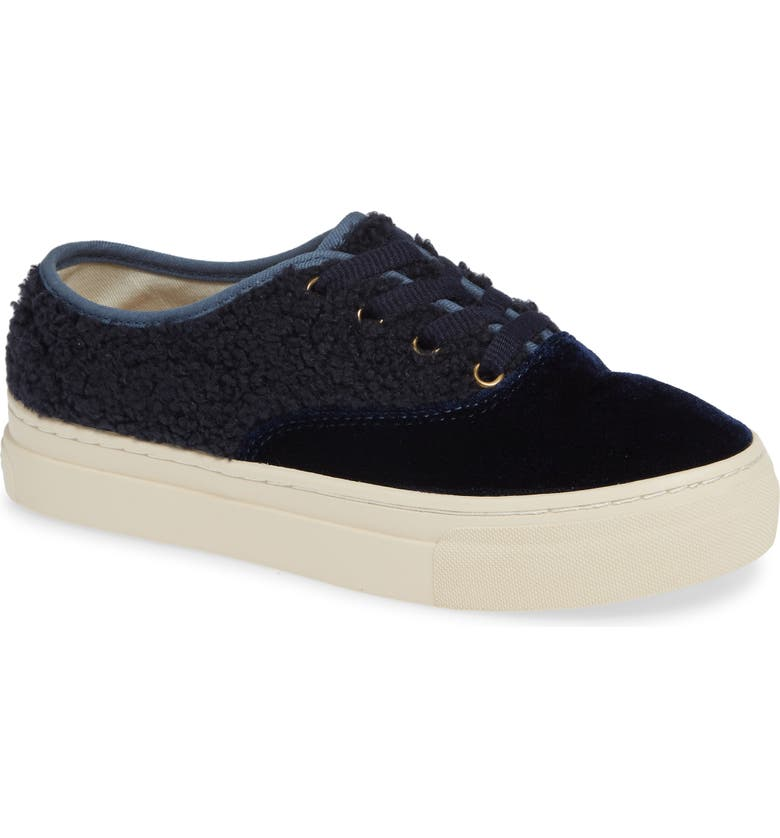 SOLUDOS Platform Sneaker, Main, color, MIDNIGHT BLUE