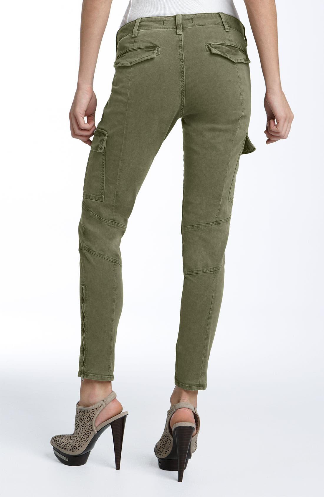 ,                             'Houlihan' Skinny Stretch Cotton Cargo Pants,                             Alternate thumbnail 9, color,                             309