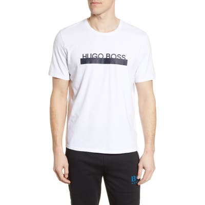 Boss Identity Crewneck T-Shirt, White