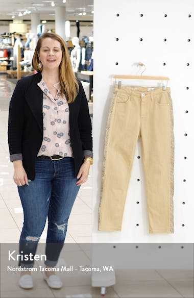 Isabelle Side Panel Ankle Skinny Jeans, sales video thumbnail