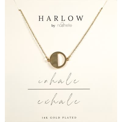 Harlow By Nashelle Breathe Boxed Necklace