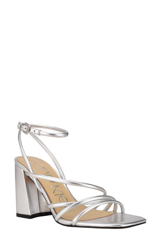 Calvin Klein QUEN ANKLE STRAP SANDAL