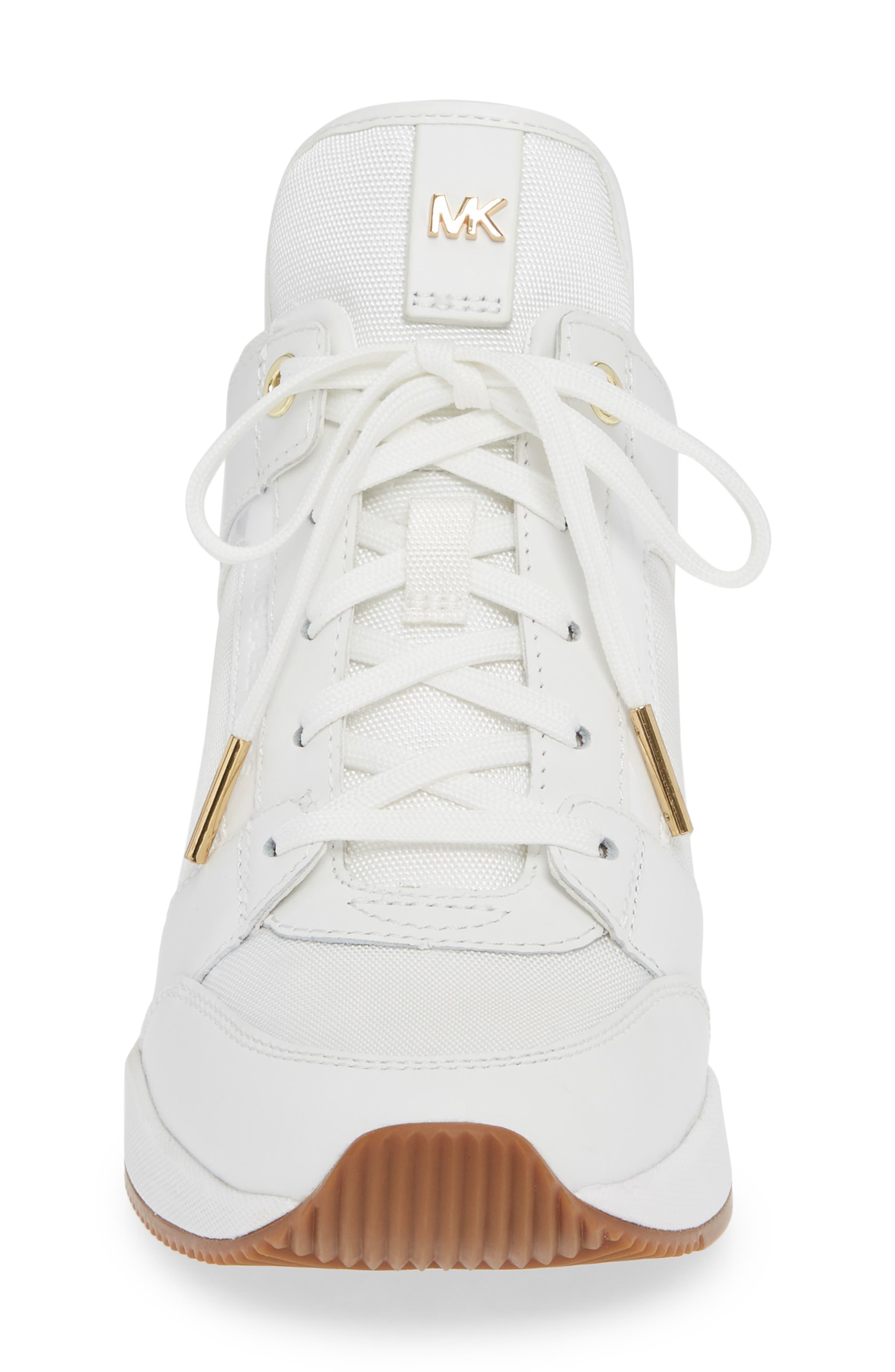 ,                             Georgie Wedge Sneaker,                             Alternate thumbnail 10, color,                             100
