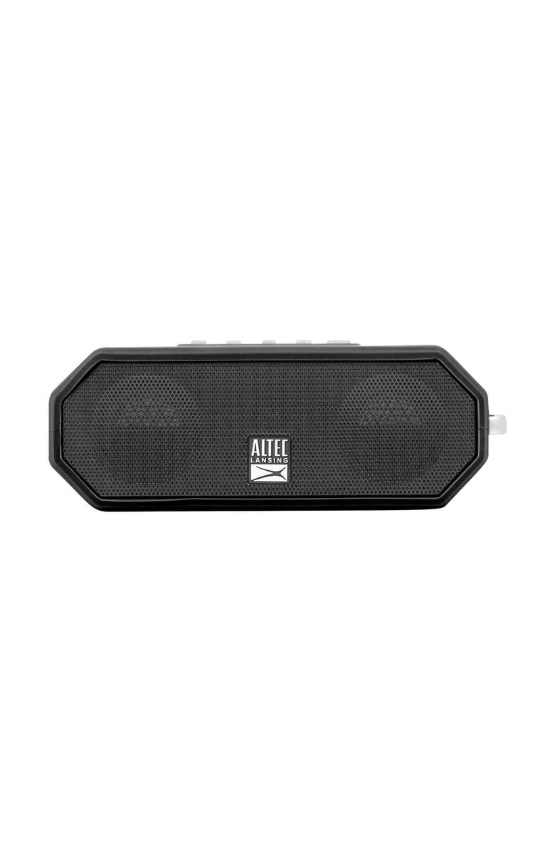ALTEC LANSING The Jacket H2O 4 Bluetooth<sup>®</sup> Speaker, Main, color, BLACK