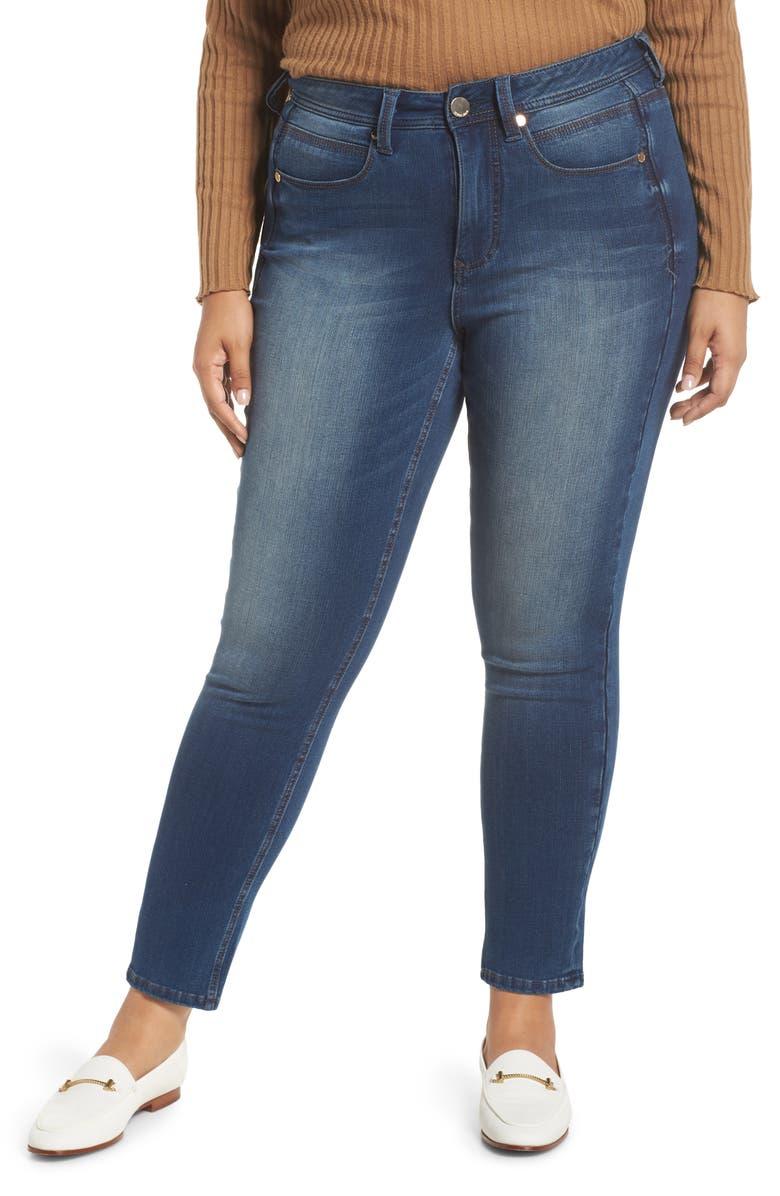 SEVEN7 Tummyless High Rise Skinny Jeans, Main, color, NOELLE
