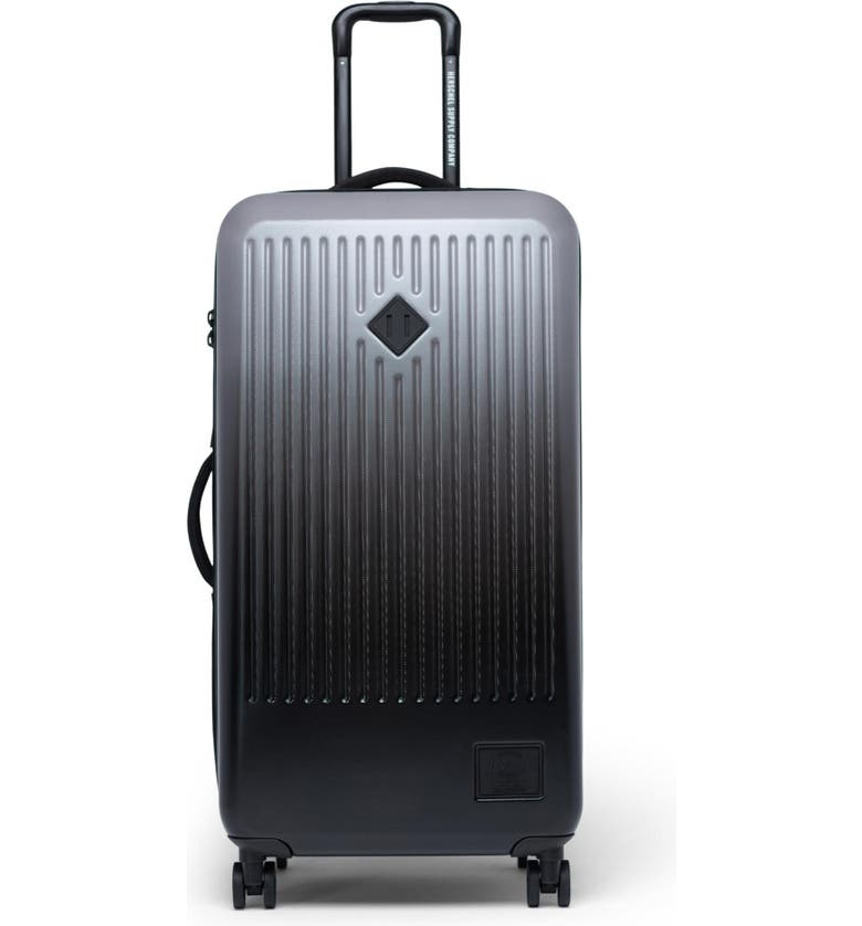 HERSCHEL SUPPLY CO. Large Trade 34-Inch Rolling Suitcase, Main, color, QUIET SHADE/ BLACK GRADIENT
