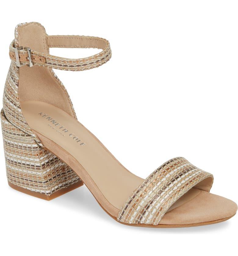 a79d7258b2 Kenneth Cole New York Hannon Block Heel Ankle Strap Sandal (Women ...