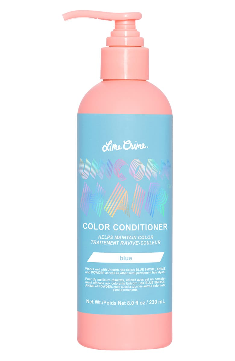 LIME CRIME Unicorn Hair Color Conditioner, Main, color, BLUE