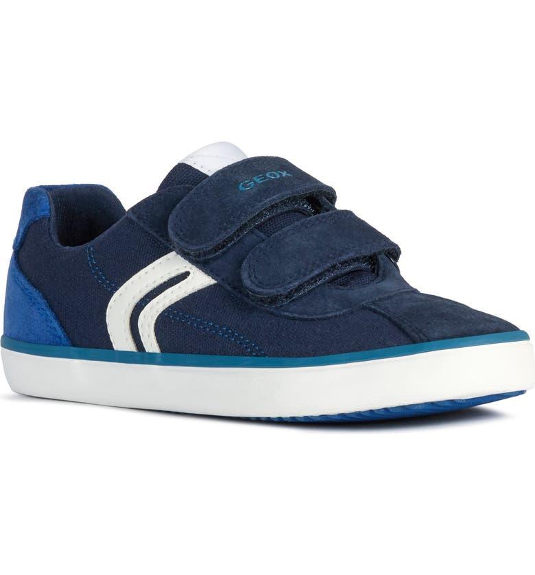 GEOX Kilwi Low Top Sneaker, Main, color, NAVY/ ROYAL
