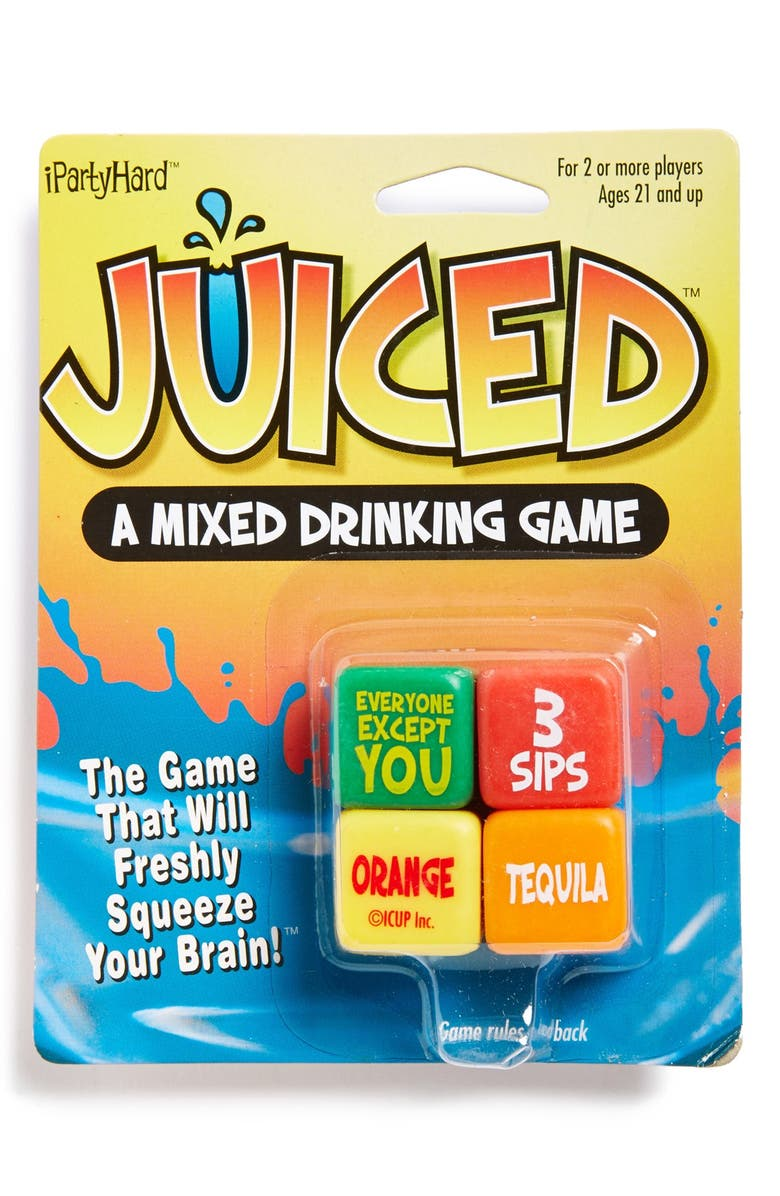 DC COMICS Icup 'Juiced - The Drinking Game' Dice Game, Main, color, 999