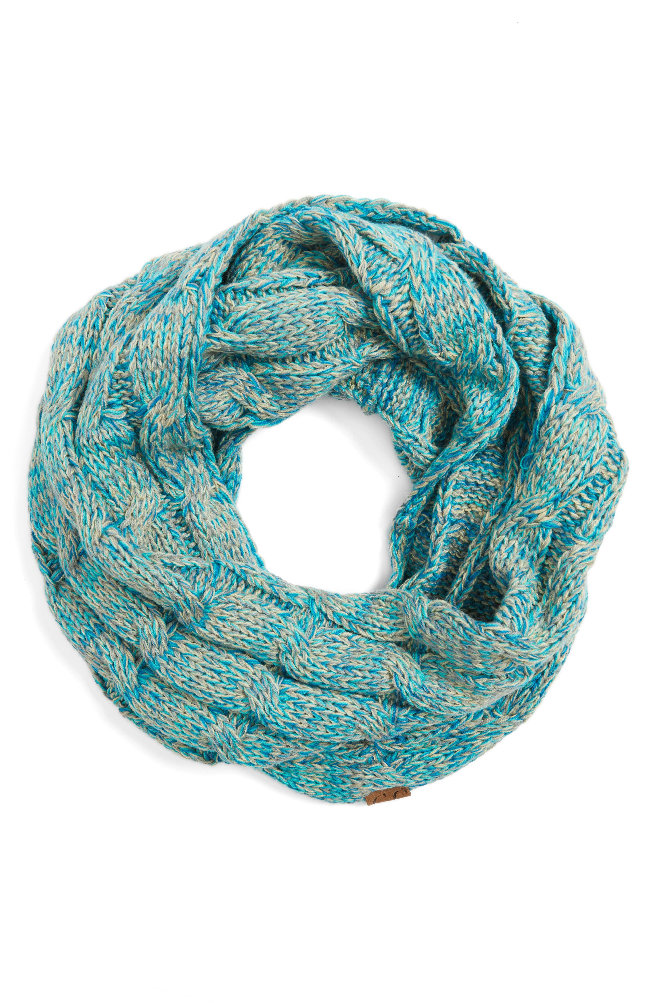 ,                             CC Knit Infinity Scarf,                             Alternate thumbnail 6, color,                             400